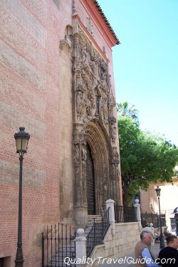 Puerta de La catedral - Málaga